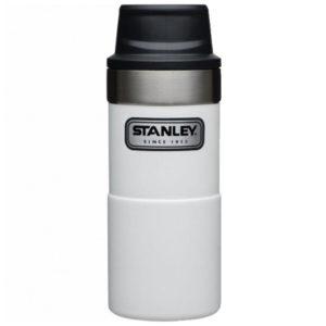 Термокружка Stanley Classic Trigger-action 350 мл  polar white, код 6939236343831