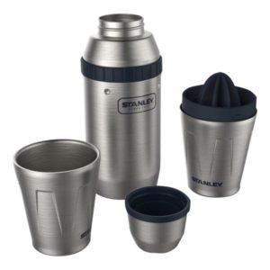 Набор Stanley Adventure: шейкер 0.59л и 2 чашки 0.21л, стальной, код 6939236350006