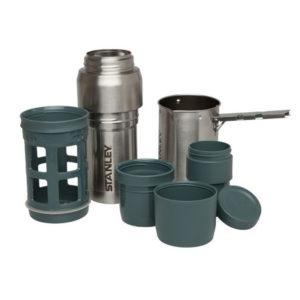 Набор посуды туристической STANLEY MOUNTAIN для приготовления кофе и чая 0.5, стальной, код 6939236322980