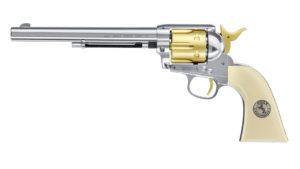 Револьвер пневматический Umarex COLT SINGLE ACTION ARMY 45, 7.5″, 4.5 мм, код 5.8354