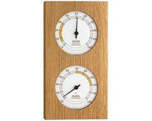 Термогигрометр для сауны TFA, дерево, 130x40x242 мм, код 40105201