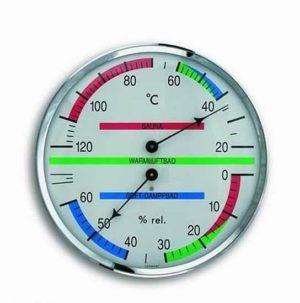 Термогигрометр TFA для сауны, d=135 мм 401013, код 401013