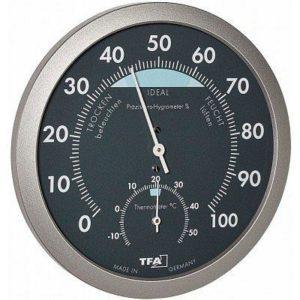 Термогигрометр TFA, пластик, d=120х37 мм, код 45204351