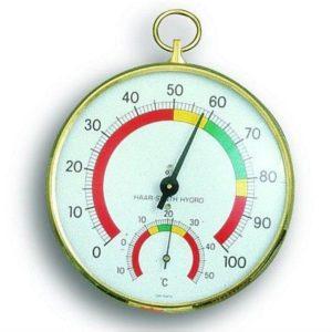 Термогигрометр TFA 452027, цветная шкала, d=100 мм, код 452027
