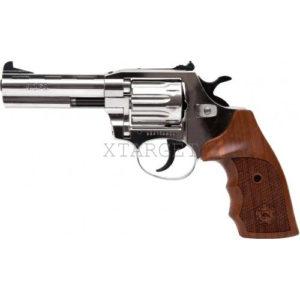 Револьвер флобера Alfa mod.441 4 мм никель/дерево, код 1431.00.49