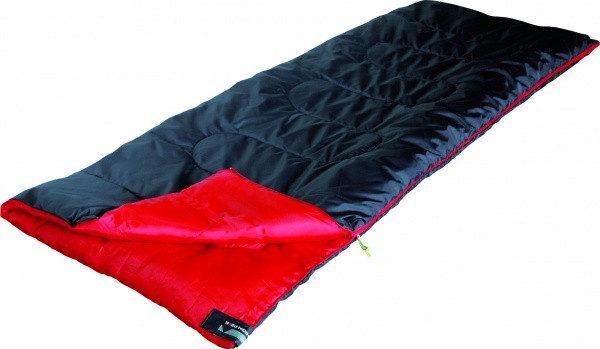 Спальный мешок High Peak Ranger / +7°C (Left) Black/red, код 922675