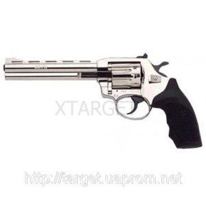 Револьвер флобера Alfa мод 461 6 никель пластик 4 мм, код 1431.00.12