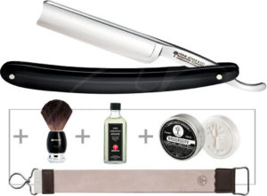 Набор для бритья Boker Classic Black Spanisch Head Set, код 2373.08.05