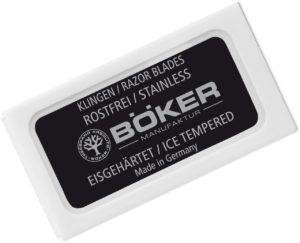 Сменные лезвия Boker Double Edge Razor Blades, ( 10шт/уп), код 2373.08.21