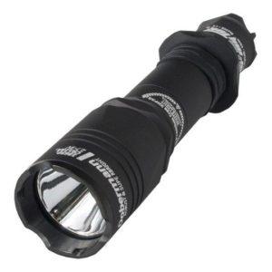 Фонарь Armytek Dobermann Pro / Black / XHP35 HI (warm), код ADP-XHP35w