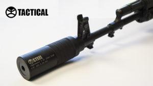 Глушитель Steel Tactical для AR-15 .223 1/2 28 UNEF, код