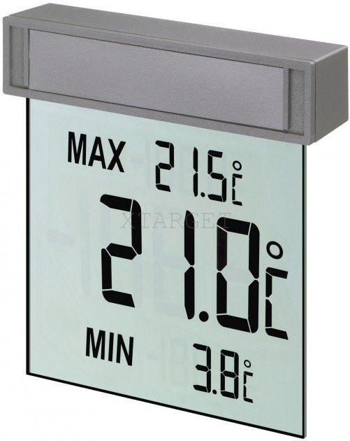 "Термометр оконный цифровой TFA ""Vision"", на липучке, 105х97х23 мм, код 301025"