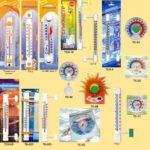 Термометри та гігрометри