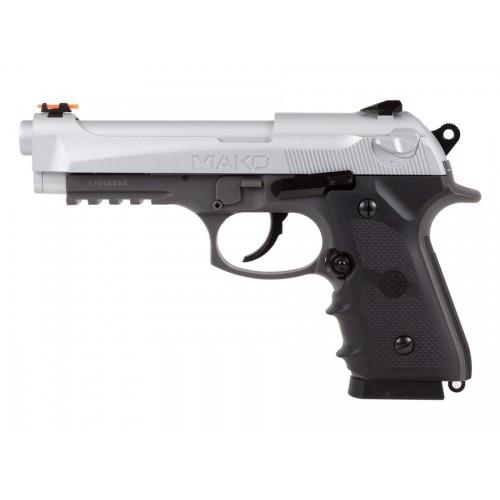 Пистолет пневматический CROSMAN Mako CO2, 4.5 мм, код 1003193